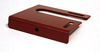 Bracket for railing (Lacquered in red (RAL 3009)) - RKS1200