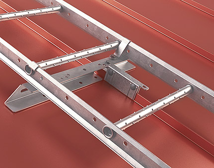 Standing seam mount for Snap-on-Roofs